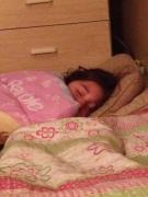 Emily sleeping 1
